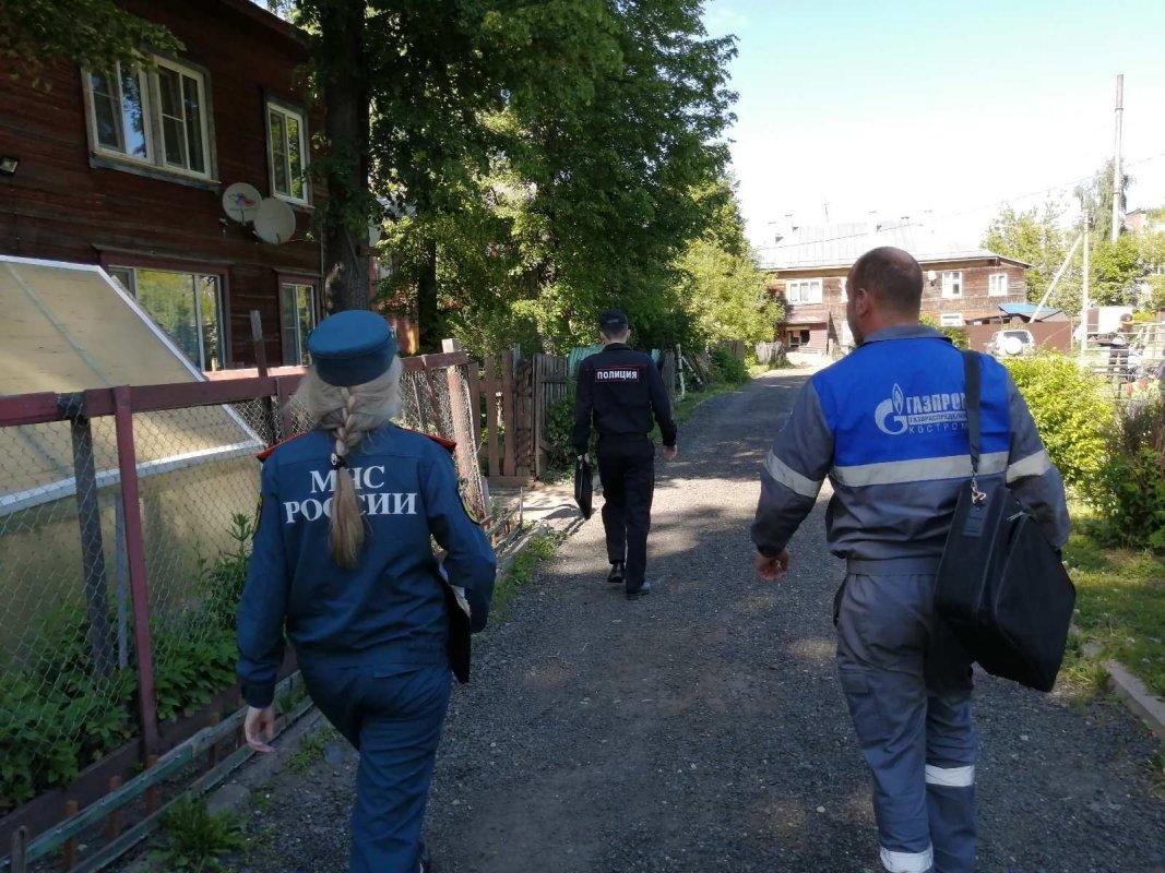 В Костроме усилили меры пожарной безопасности в жилых домах