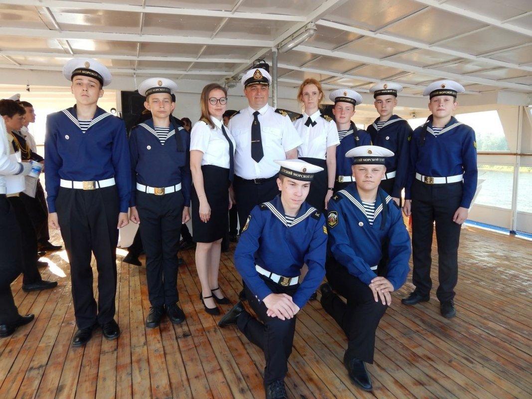 Костромичи приняли участие во всероссийской летней школе юных моряков