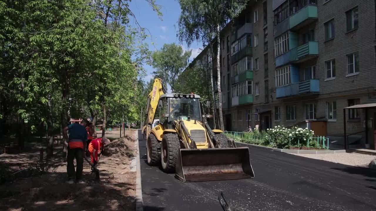 В Костроме начали ремонтировать  дворы