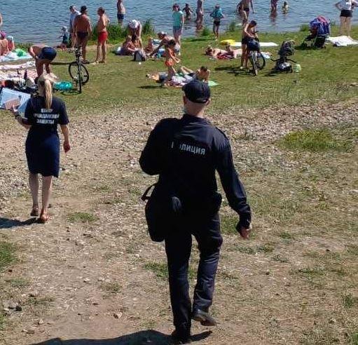Чертова дюжина протоколов составлена в Костроме на любителей несанкционированных пляжей