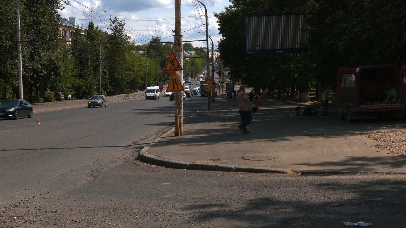 Главная улица Костромы практически готова к асфальтированию