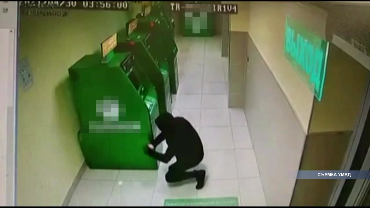 Попытки вскрыть банкоматы не увенчались успехом
