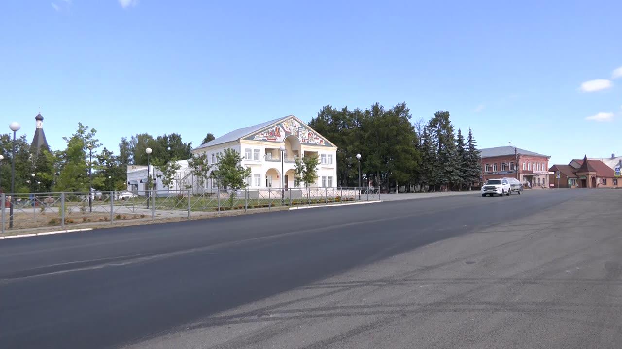 В «ювелирной столице» Костромской области завершается ремонт дорог