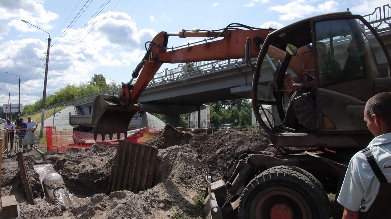 В Костроме началось строительство новых сетей водоснабжения
