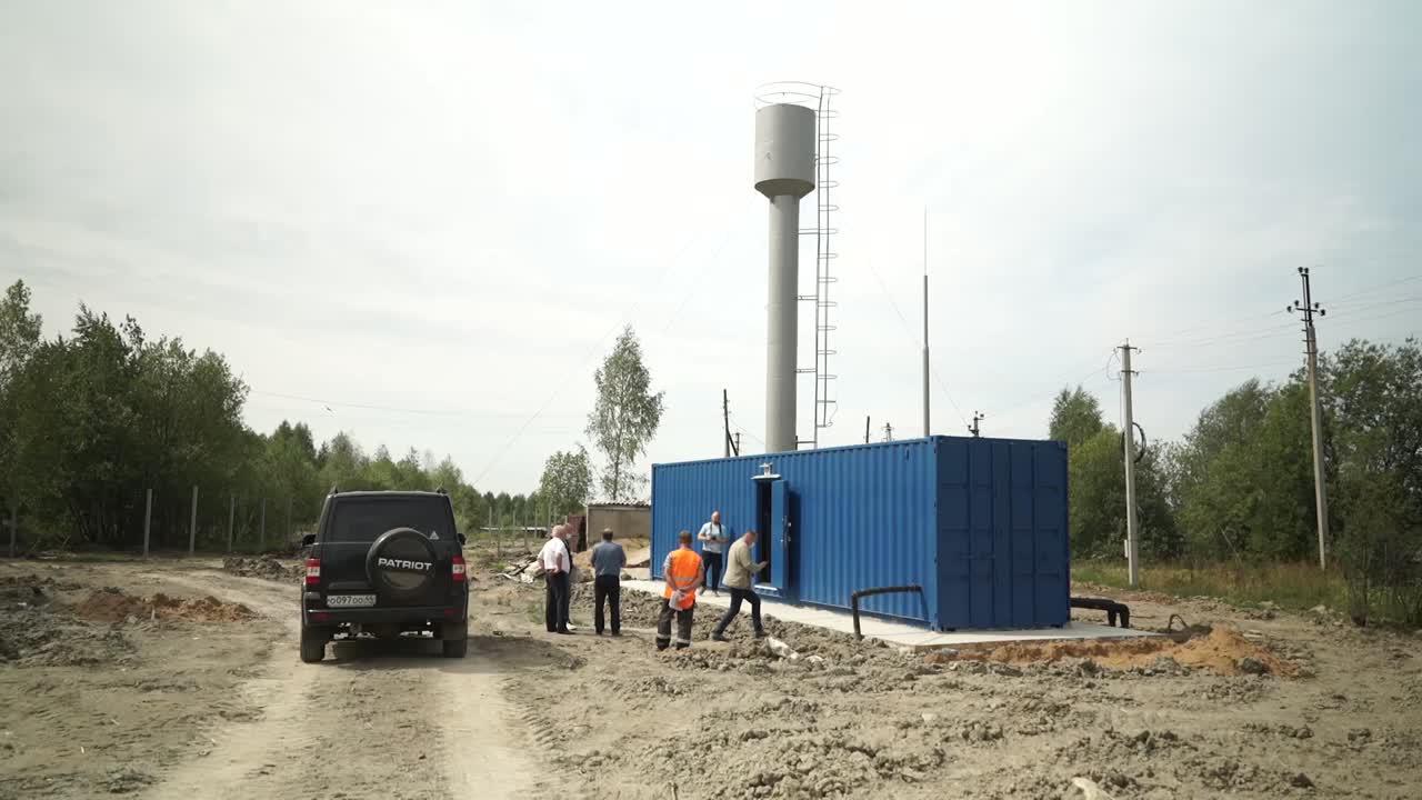 В поселке Рождественское к испытаниям готова новая станция водоочистки