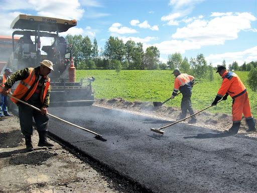 В Нерехте завершается ремонт дорог