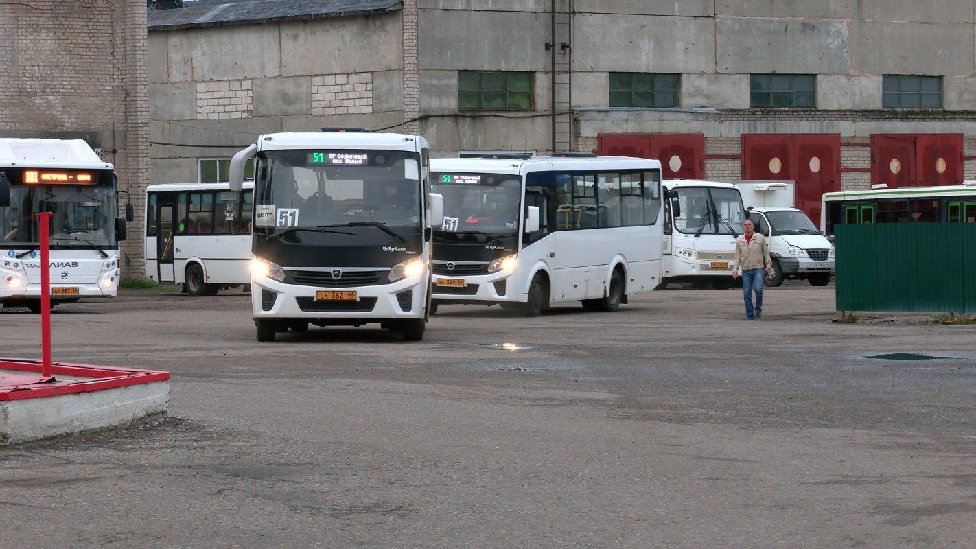 Сегодня на пригородных маршрутах начали курсировать новые автобусы