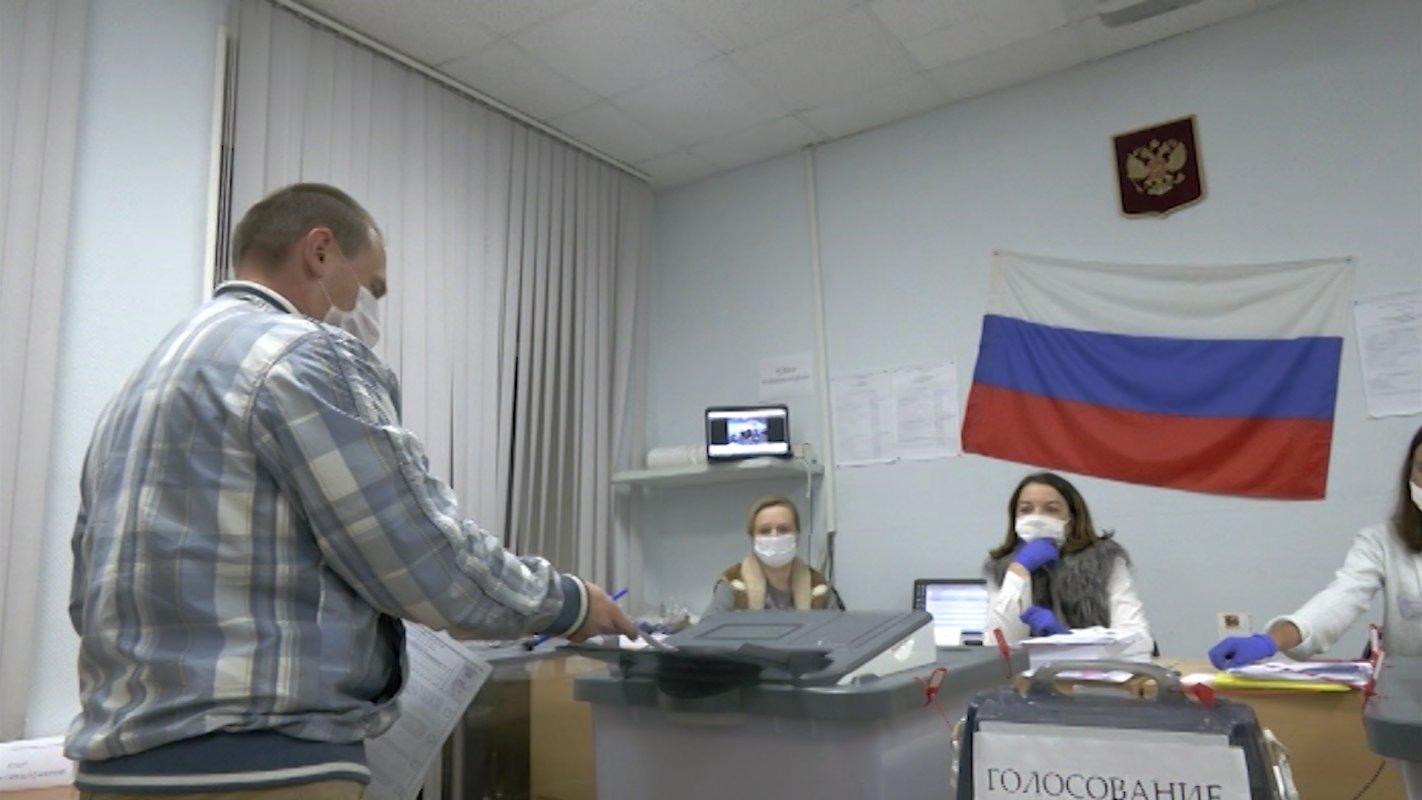 На Дальнем Востоке уже считают голоса,  Костромская область ещё активно голосует