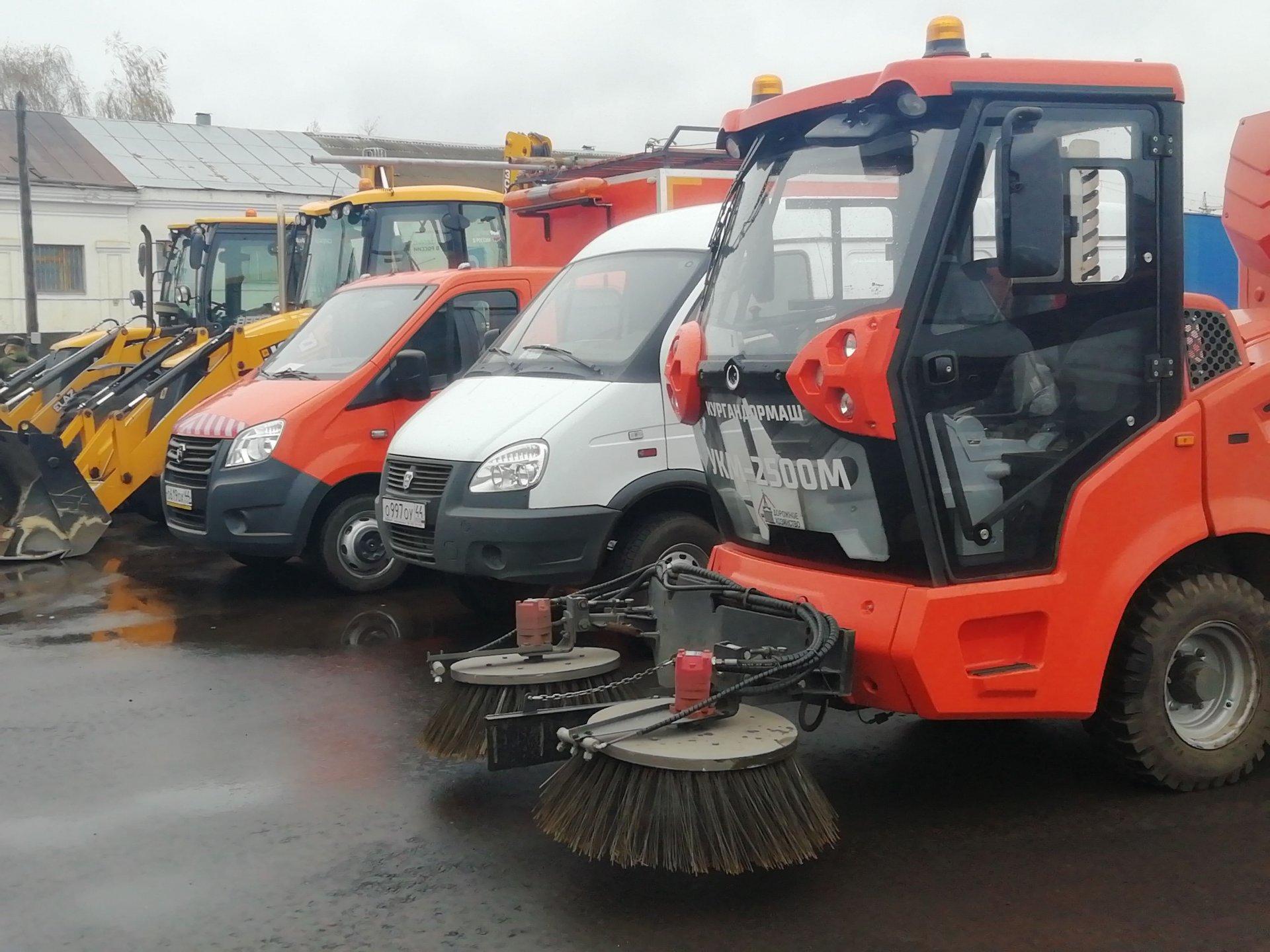 Костромские дорожные службы начали подготовку к работе в зимний период