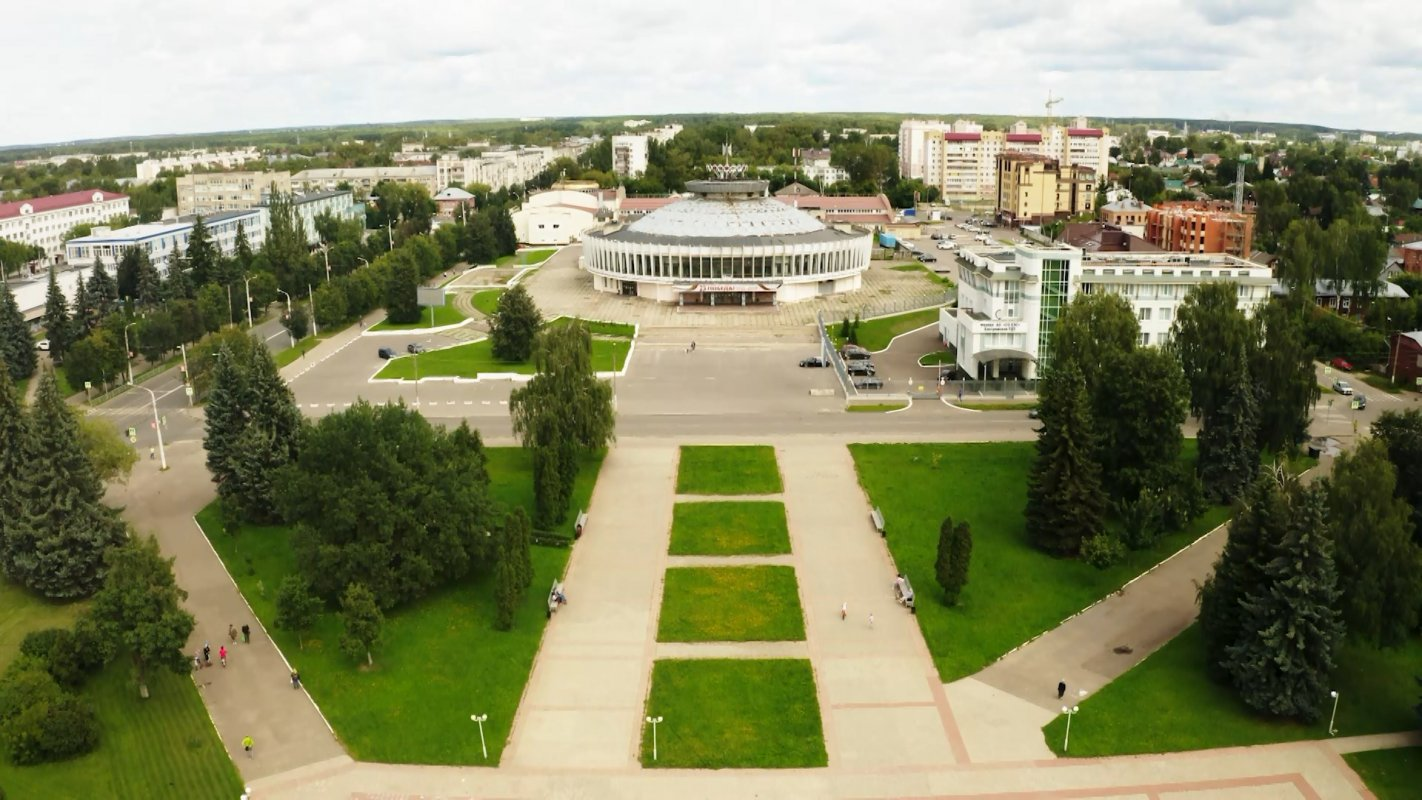 Территория возле цирка в Костроме преобразится