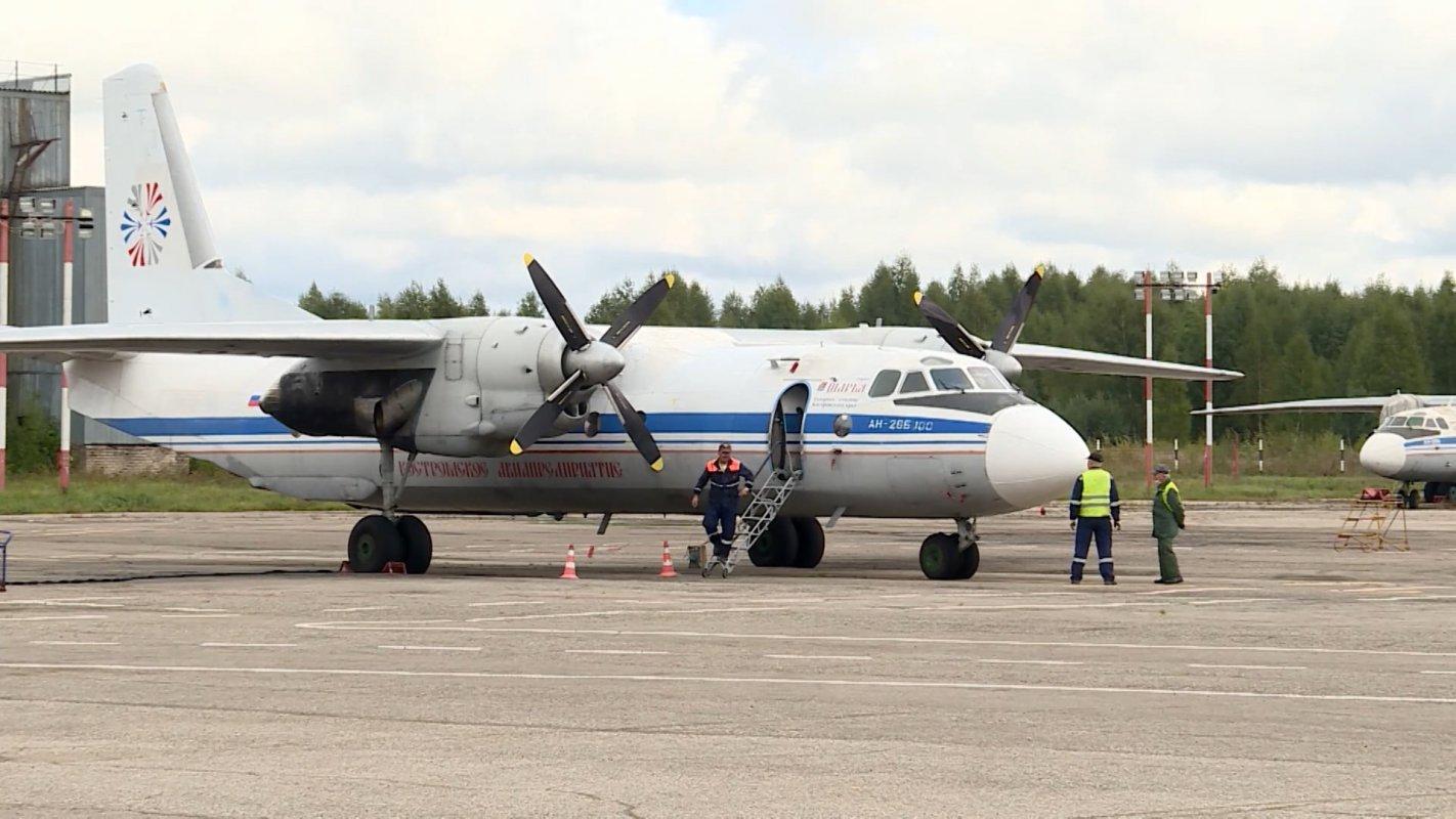 В костромском аэропорту «Сокеркино» начался ремонт взлетно-посадочной полосы