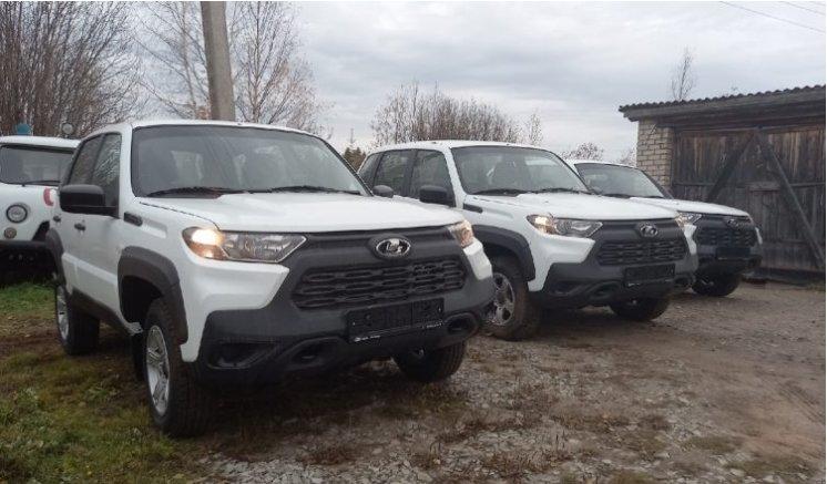 Четыре новых машины  поступили в Вохомскую районную больницу