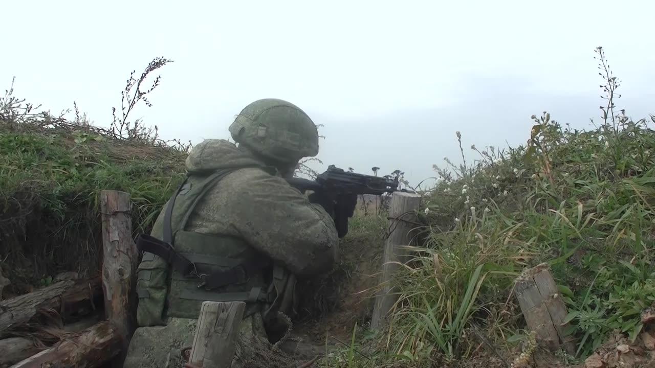 Гвардейцы Костромского полка ВДВ провели тренировку