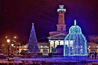 В Костроме новогоднее представление на Сусанинской площади начнется за полчаса до полуночи