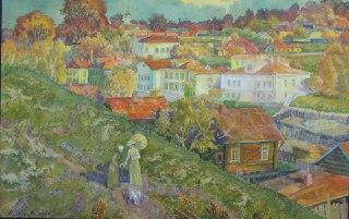 В Костромской художественной галерее открывается выставка акварели Леонида Сергеева