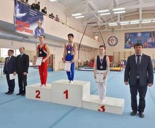 Сразу три медали привезли костромские гимнасты с Первенства ЦФО