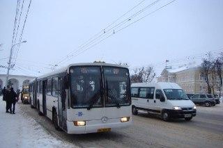 В Костроме в воскресенье общественный транспорт работает по будничному расписанию