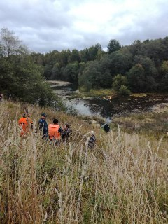 В Костроме следователи выясняют обстоятельства падения легкомоторного самолета в реку Кешка