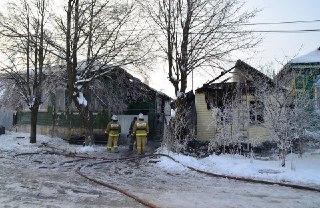 В Нерехте сразу три пожара за ночь