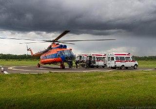В каждом районе Костромской области оборудуют вертолетную площадку