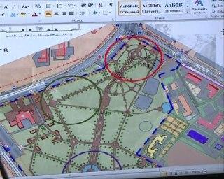 Сегодня информплощадка по дизайн-проектам благоустройства парков работает в 17 лицее Костромы
