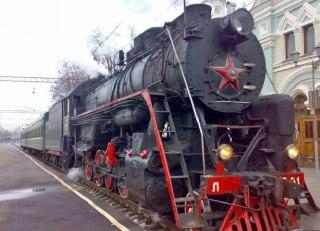 Сегодня на вокзал Костромы прибудет необычный железнодорожный состав