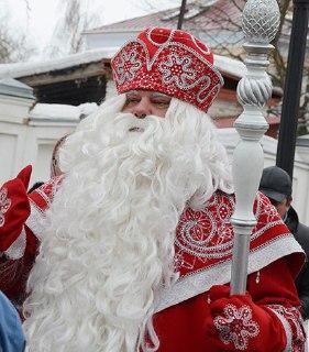В Кострому приехал Российский Дед Мороз