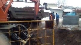 В Костроме всю ночь устраняли последствия аварии на теплотрассе