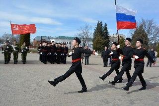 В Костромской области начались отборочные этапы «Плац - Парад 2018»