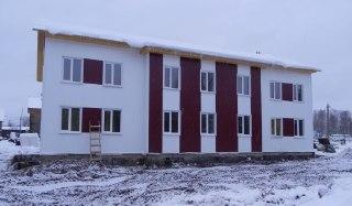 В селе Боговарово Костромской области скоро сдадут многоквартирный дом для переселенцев