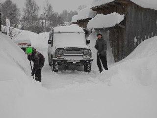 В Костромской области снега намело в два раза больше нормы