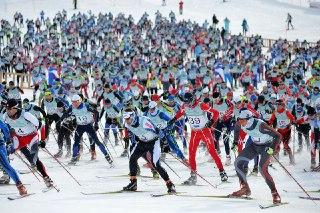 Два жителя Нерехты приняли участие в международном лыжном марафоне