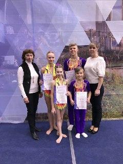 Костромские акробаты привезли награды с Первенства ЦФО