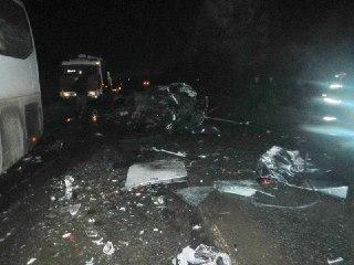 На дороге Кострома – Шарья столкнулись «Жигули» с автобусом