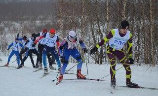 Жители Солигалича в Костромской области открыли лыжный сезон