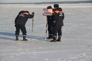 Спасатели призывают костромичей не выходить на лед
