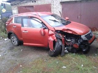 В Костроме произошли сразу две аварии с участием автомобилей КИА