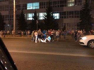В Костроме сбили подростка на скейте