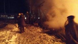 В поселке Красное-на-Волге в результате пожара многодетная семья осталась без крова