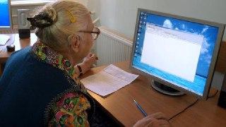 В Солигаличе Костромской области набирают группу пенсионеров в класс компьютерной грамотности