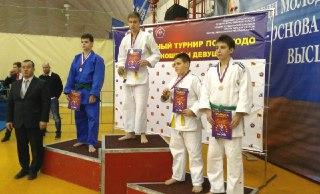Одно золото и две бронзы привезли костромские дзюдоисты с межрегионального турнира