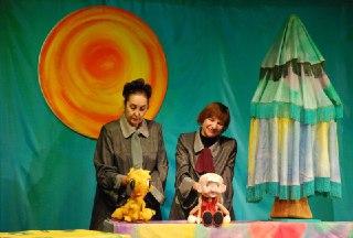 Костромской театр кукол привез «Гусенка» в Шарью