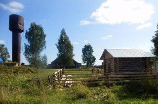 В селе Шартаново Чухломского района местные жители реконструировали насосную станцию