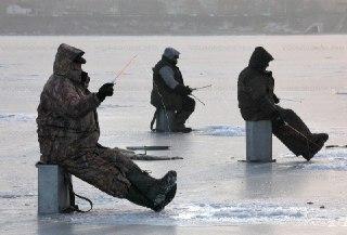 В Костромской области сделали карту опасных мест выхода рыбаков на лед