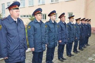 В Костроме прошла присяга молодых сотрудников УФСИН