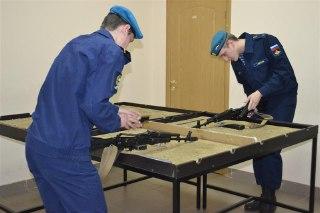 В Костроме на базе спортивного комплекса ОМОН  отдела Росгвардии прошла военно-спортивная эстафета