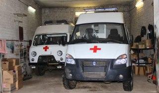 В Буйскую больницу приехали две новые машины «Скорой помощи»