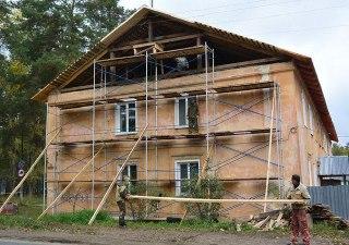 В Шарье завершаются ремонты многоквартирных домов