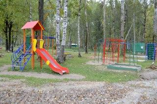 В Волгореченске завершают благоустройство парка